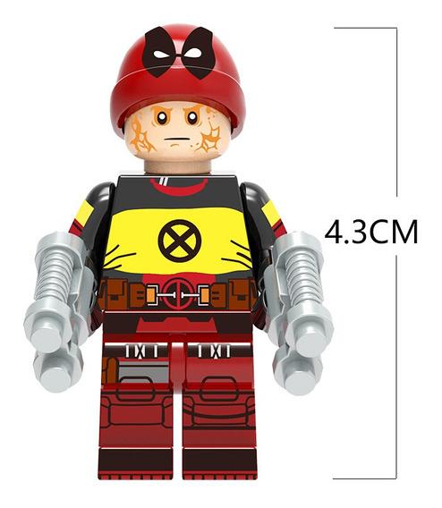 Deadpool Marvel Super Heroes Bloquea Los Juguetes Figuras