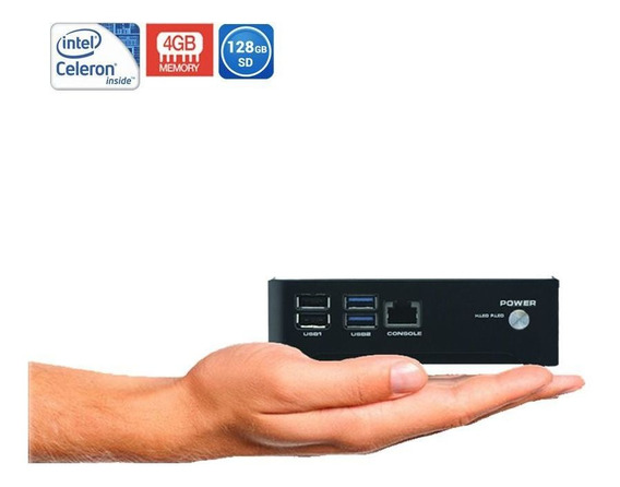 Mini Pc Industrial Intel Thargon Celeron N2805 4gb + Ssd M2 128gb + Lic. Windows 10 Oem