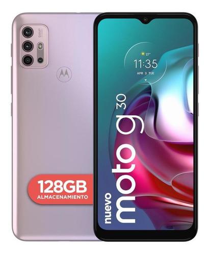 Imagen 1 de 4 de Celular Motorola Moto G30 128gb Lila Paste