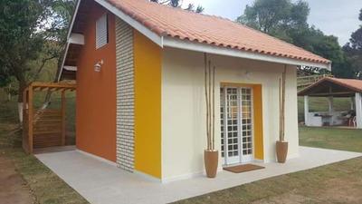 Casa/chale De 1 Dormitório Em Condomínio Fechado..