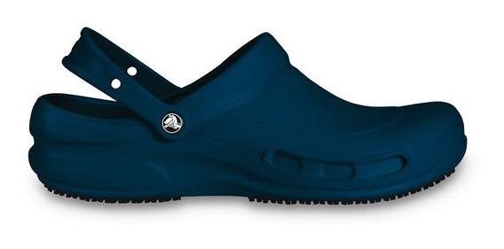 Zapato Doctores, Chefs, Dentistas, Crocs Bistro Azul Marino