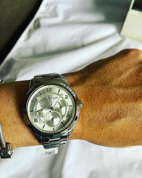 Relógio Michael Kors Original Prata