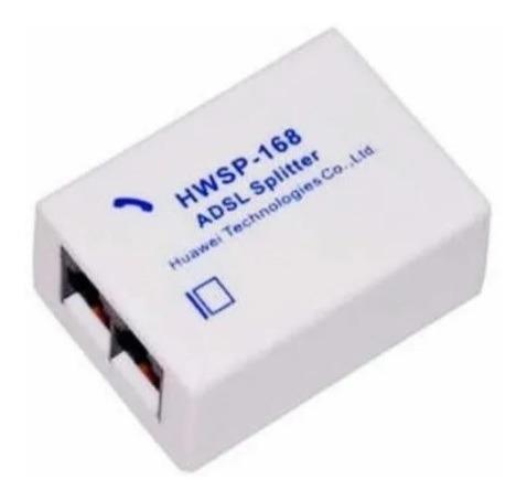 Filtro Adsl Portátil Teléfono Fax En Red Separador De Línea