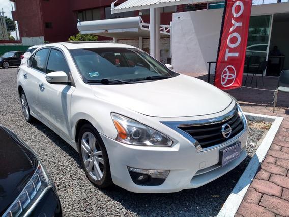 Nissan Altima Exclusive 2014 Color Blanco Automático 0116-tc