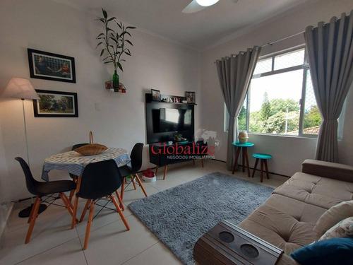 Imagem 1 de 21 de Apartamento Com 2 Dormitórios À Venda, 80 M² Por R$ 295.000,00 - Estuário - Santos/sp - Ap1043