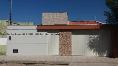 Casa 3 Dormitórios Para Venda Em Teresina, Uruguai, 3 Dormitórios, 2 Suítes, 3 Banheiros, 4 Vagas - Casa Uruguai