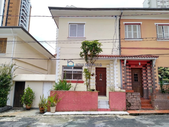 Casa De Vila Próximo Ao Metrô Vila Mariana. - Bi17956