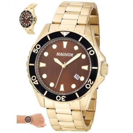 Relógio Magnum Masculino Analogico Ma35011r