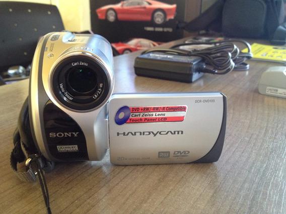 Filmadora Sony Handycam Dcr-dvd105 - Aceito Trocas