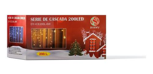 Serie Cascada De 200 Luces Led 4m Luces Navideñas Adorno