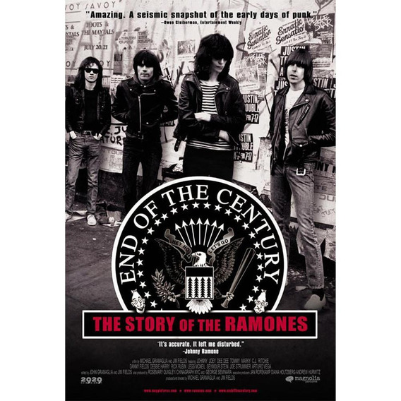 Ramones - End Of The Century - Dvd - W
