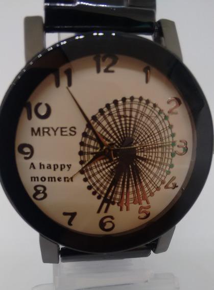 Lindo Relógio Feminino Unissex Pulseira Lindo Promoção