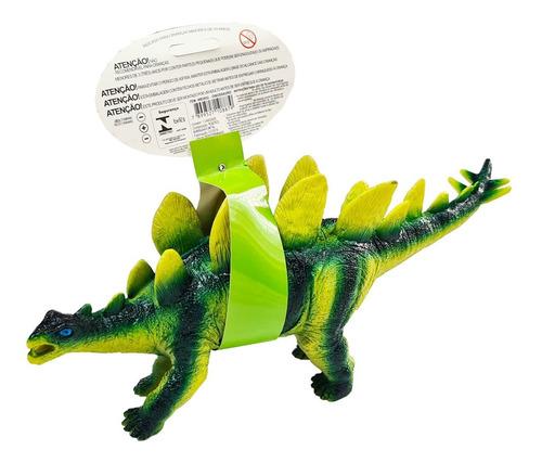 Dinossauro Com Som Em Borracha Macia Vinil - Tamanho Grande
