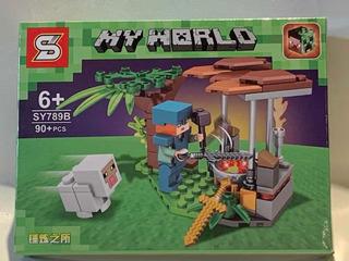 Minecraf Simil Lego , Generico Y Alternativo