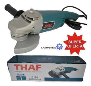 Esmerilhadeira 4.1/2 Thaf G1008 Similar A 1347 Bosch 220v