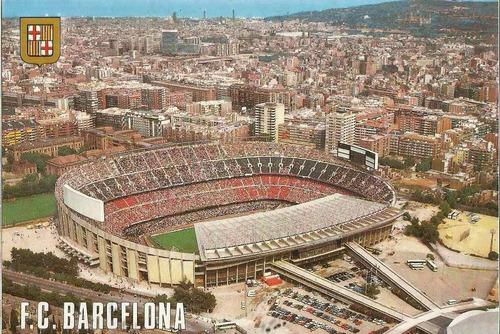 Bcn 4699 Postal Barcelona Espanha Estadio F C Barcelona Mercado Livre