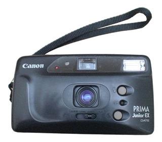 Camara Fotografica Canon Prima Junior Ex Date Carrete Buena