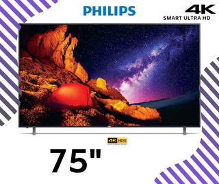 Led 75 Phillips Smart Tv Ultra Hd 4k Nueva Y Sella,playsound