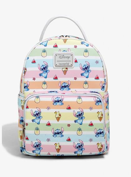 Disney Loungefly Mini Mochila Stitch Frutas, 2019