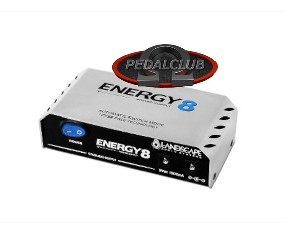 Fonte Pedal 8 Pedais Landscape E8 Energy 8 1500ma Pedalclub