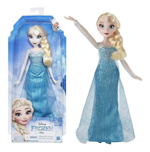 Imagen 1 de 7 de Muñeca Elsa Frozen Clasica Original Nueva Cod B5161 Bigshop