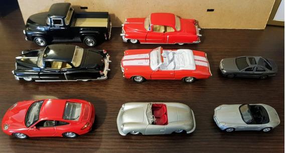Lote De 8 Autos Varios, Kinsmarts, Maisto Y Otros.