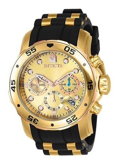 Invicta Hombre 17884 Pro Diver Reloj Cronógrafo 18koro 12msi