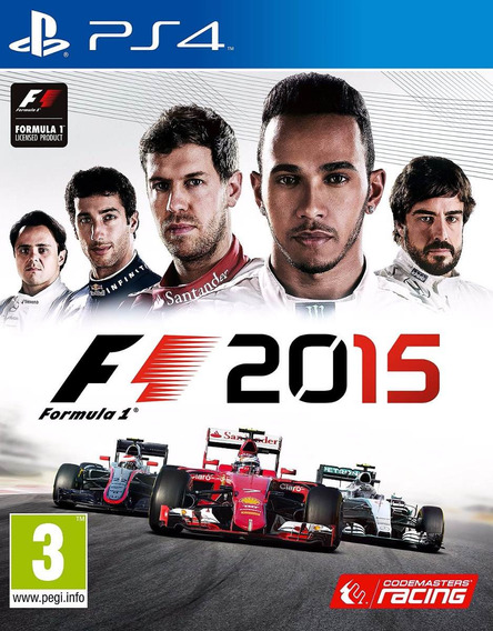 Formula 1 2015 // Ps4 Original**1 Midia Digital