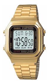 Relógio Casio Unissex Illuminator A178wga-1adf - Nota Fiscal
