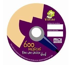Disco Dvd-a03 Combo Br1 600 Músicas P/ Videokês 8380 E 6628