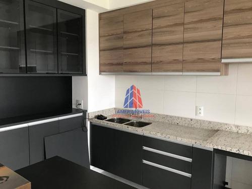 Apartamento Com 3 Dormitórios À Venda, 121 M² Por R$ 1.290.000 - Edifício Garnet - Jardim São Paulo - Americana/sp - Ap1042
