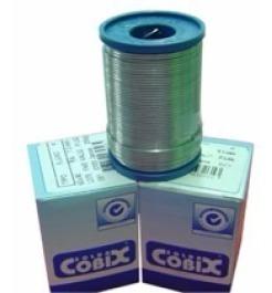 3x Solda Em Fio 1mm 60x40 Cobix C/ Fluxo Ra (t2) Rolo 250g