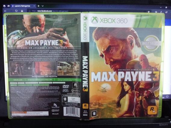 Max Payne 3 * Xbox 360 Original Português Brasileiro