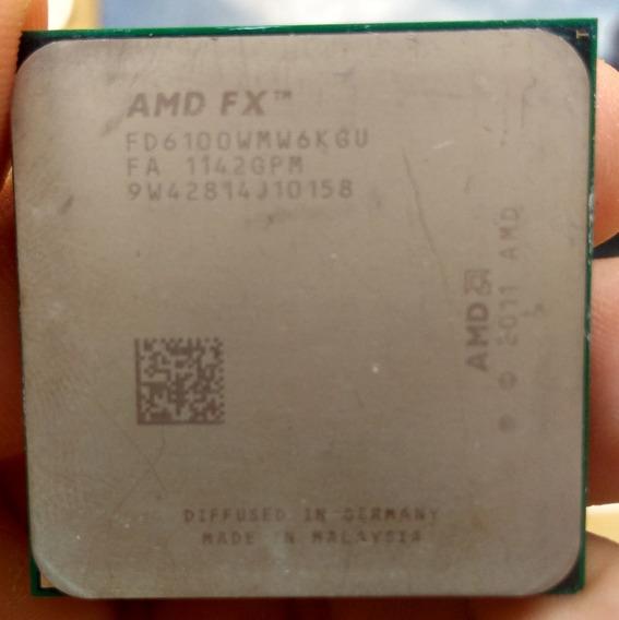 Processador Amd Fx 6100 Black Edition 6 Core 14mb