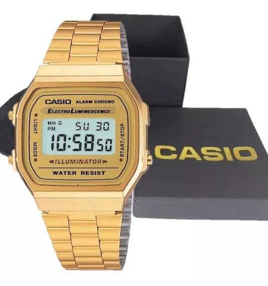 Relogio Cassio Original+ Caixa Dourado/preto/rouse/branco