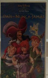 Película Vhs Peter Pan El Regreso Al País De Nunca Jamás