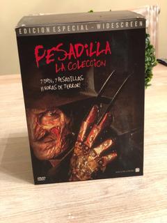 Dvd Pesadilla - La Colección - Nightmare Freddy Krueger