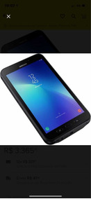 Tablet Samsung Active 2 4g 16gb