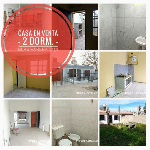 Casa En Venta - 2 Dormitorios - Blas Parera 1352