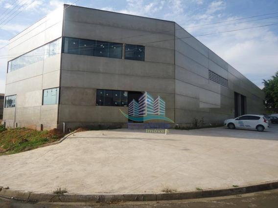 Galpão Para Alugar, 532 M² Por R$ 8.000,00/mês - Jardim Boa Vista - Hortolândia/sp - Ga0028