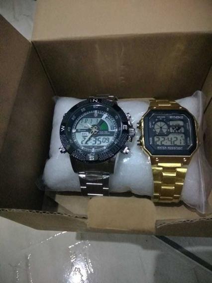 Kit C/ 02 Relógios Originais .