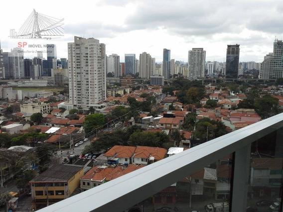 Apartamento Com 1 Dormitório À Venda, 52 M² Por R$ 626.000,00 - Brooklin - São Paulo/sp - Ap14328
