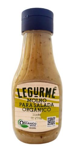 Imagem 1 de 2 de Molho Org Salada Limão 270g