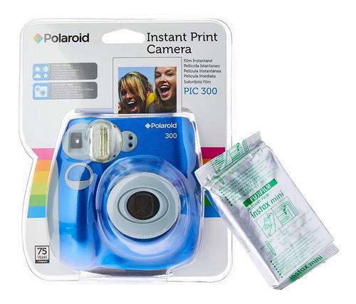 Câmera Polaroid Instantânea Com Filme 10 Poses Polpic300