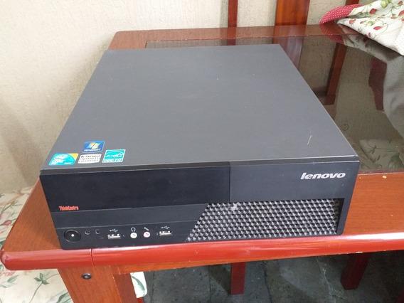 Cpu Lenovo Thinkcentre M58p Core 2 Duo 4gb Hd 320 Monitor 21