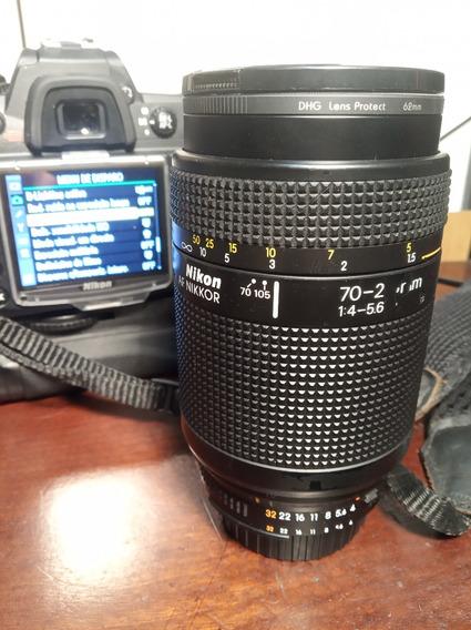Lente Nikon 70-210 1:4-5.6d Frete Grátis Nikon D300s Mako
