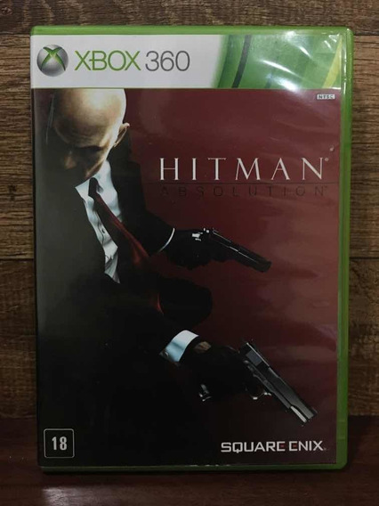 Hitman Absolution Xbox 360 Mídia Física Envio Imediato