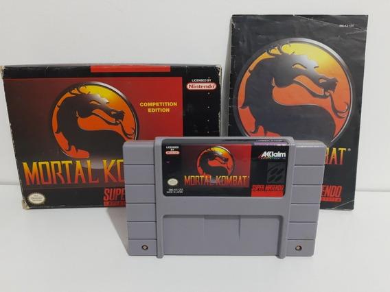Mortal Kombat Completo Super Nintendo