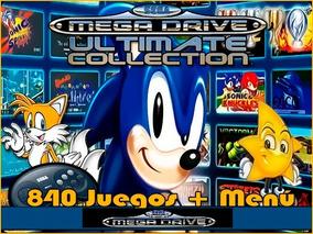 Portable Sega Megadrive Classics 840 Jogos Em 1 Para Pc