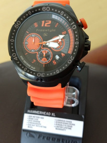 Relogio Freestyle Shark Precision 2.0 Black / Orange